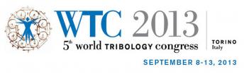 World Tribology Congress 2013